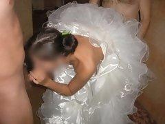 Watch My Wife Didn't Wear Her Panties On Wedding